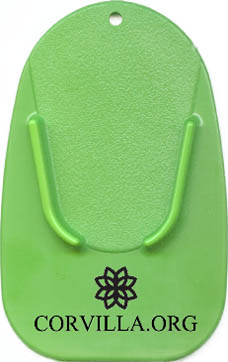Green Kickstand Pad with Black Imprint